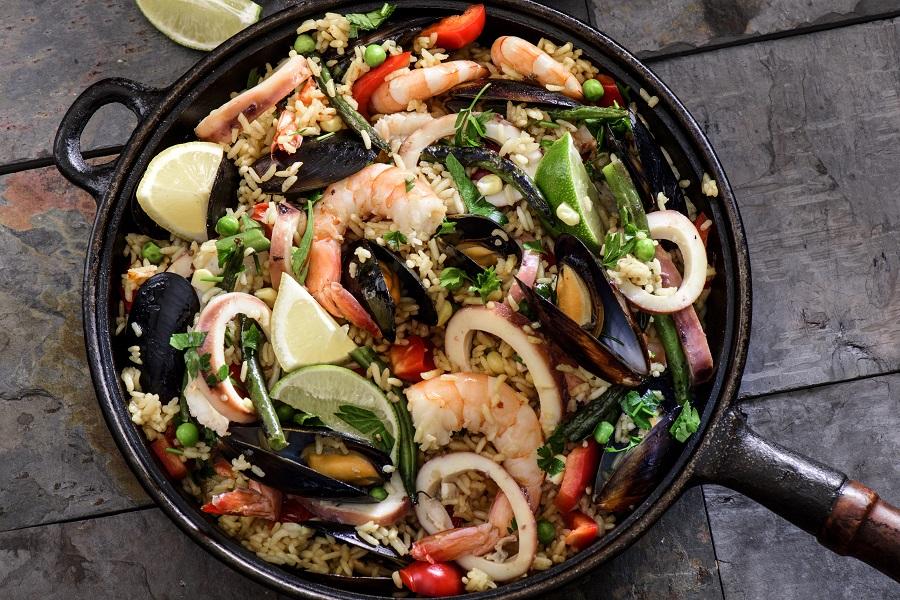 >The Authentic Spanish Paella