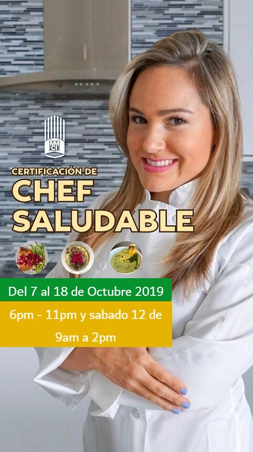 Certificacion de chef saludable con Fernanda Chacon
