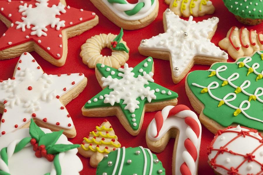 >Christmas cookies