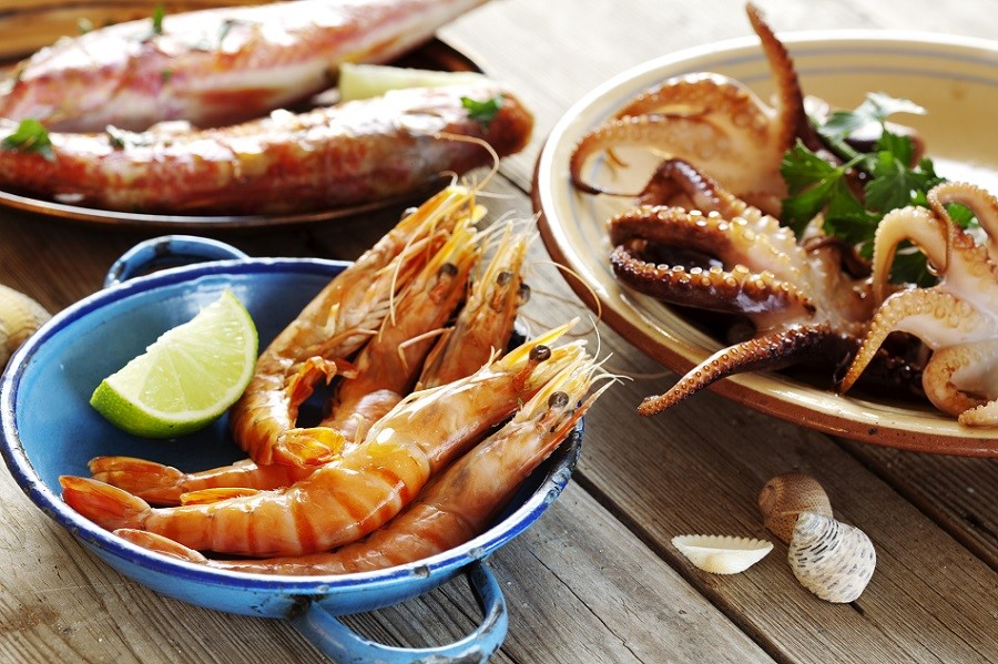 Taste of the Ocean: octopus and seafood
